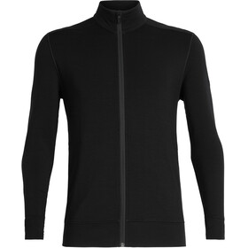 Icebreaker Momentum LS Zip Jacket Men black